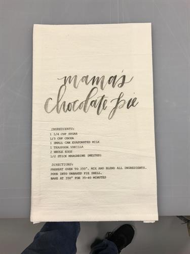Workman Creative Co. DTG Towel Print