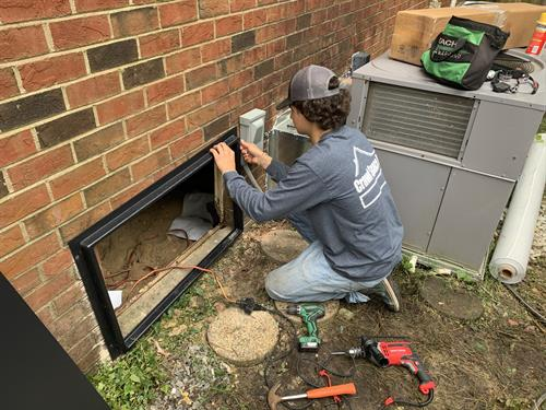 Crawl Space Pro installs new crawl doors to help keep your crawl space safe from unwanted pests.