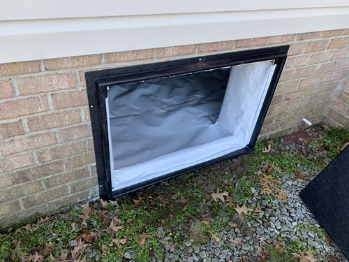 Crawl Space Pro will install vapor barriers up to the recommended sill plate level, install dehumidifiers, and seal vents. All electrical hook ups are included.