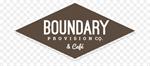 Boundary Provision Co. & Cafe