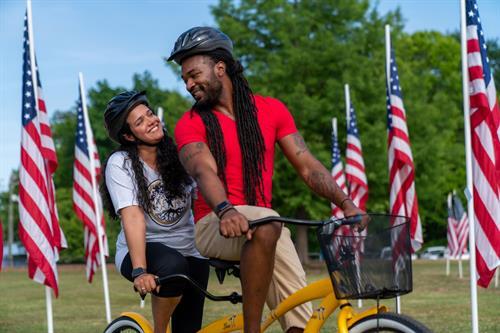 We offer Tandem Bike Rentals for $25.00/2 hrs.