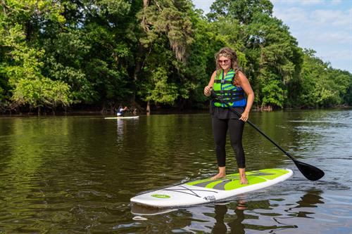 We offer SUP Board Rentals for $20.00/2hrs.