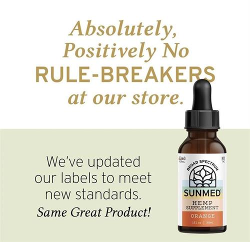 Check out our new updated labels, stop in for transparent info from our knowledgeable staff