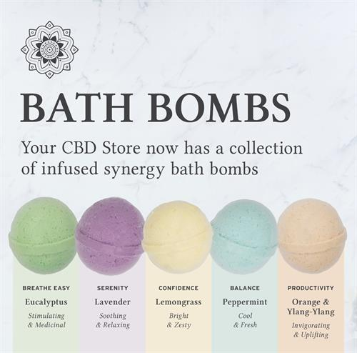 Bath Bombs make a great way to end a long day!