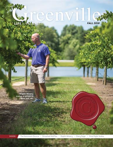 Greenville magazine is published quarterly and distributed as an insert in The Daily Reflector
