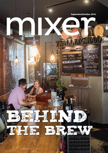 Mixer is published every other month and distributed throughout Greenville