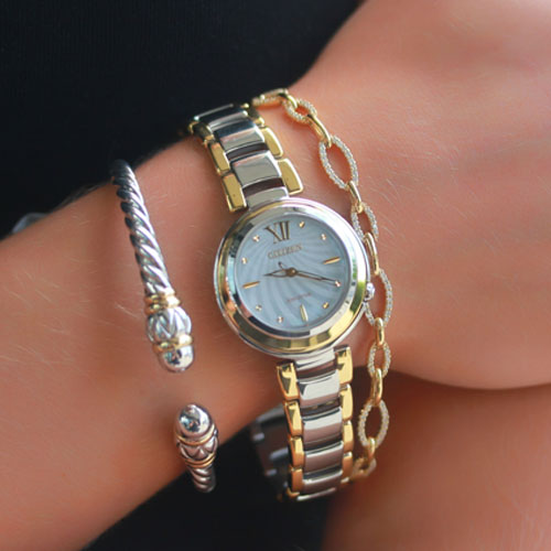 We have a selection of fine men's jewelry and watches.