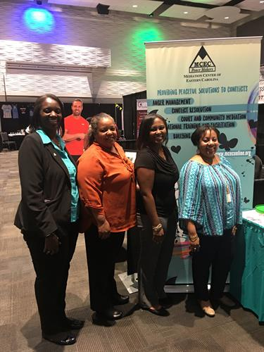 MCEC Staff at the Business Expo (May 4, 2017)