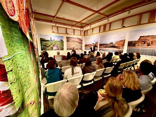 Galleries are also used for public lectures for the community to attend, such as Downtown Dialogues.