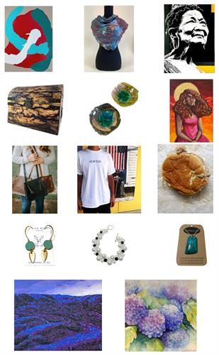 We continue to support local artists in our community in many ways, through open calls for our Gift Shop and Online Store, auction event fundraisers, seasonal Sidewalk Sales and more!