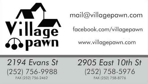 Hastings Ford Greenville Nc >> Village Pawn | Pawn Shops - Greenville-Pitt County Chamber of Commerce: