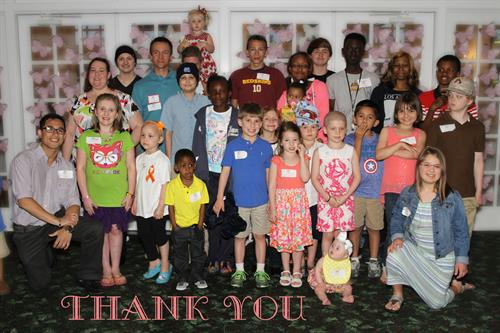 2015 Pediatric Survivor's Dinner
