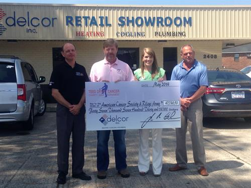 check presentation with Delcor