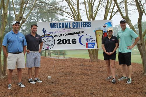 2016 Teed Off at Cancer Golf Tournament