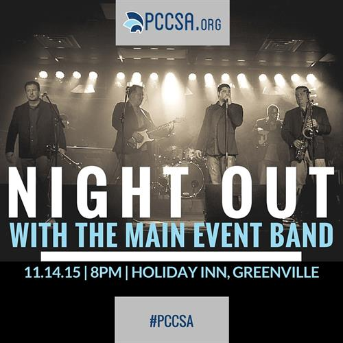 Night Out with the Main Event Band | Nov 14th 8pm