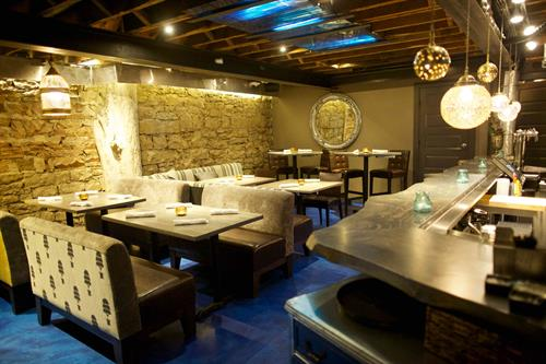 One of the most beautiful and comfortable private dining rooms in Boulder, the Pearl Dive seats up to 30 guests