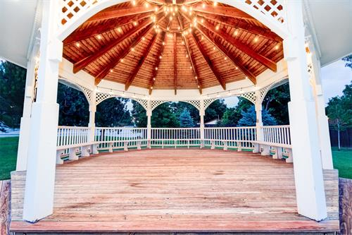 Lighted Gazebo