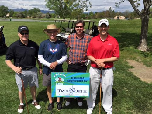 Proud sponsors of Can'd Aid's annual Grip Sip Give golf tournament