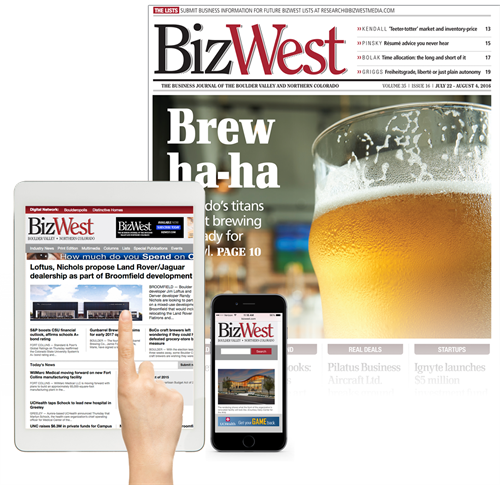 Print, Digital and Mobile - Business news any way you want it.