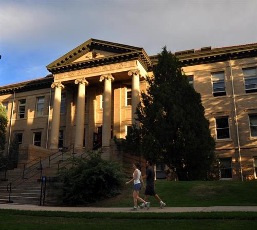 Simon Guggenheim Law Building