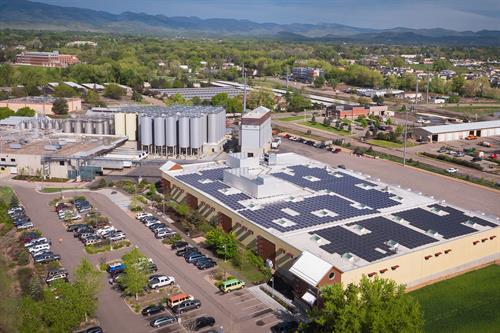 New Belgium Brewing Company - 300 kW Rooftop