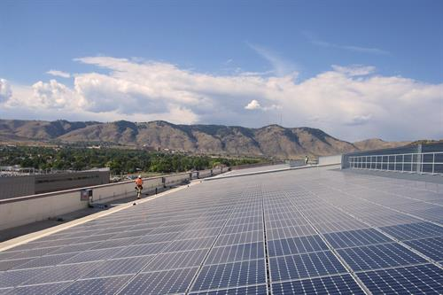 National Renewable Energy Lab - 2.3 MW Carport and Rooftop