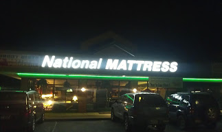 You can see us at night thanks to our energy efficient LED sign.