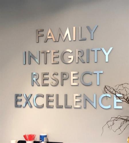Our Core Values