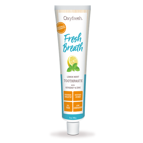 Maximum Fresh Breath Lemon Mint Toothpaste