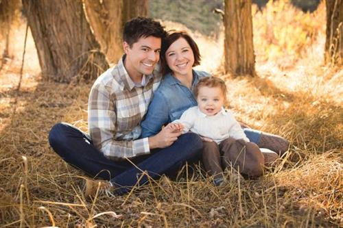 Dr. LaRose and family