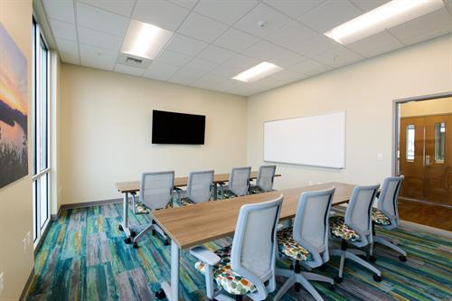 Meeting rooms for up to 15 people