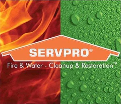 SERVPRO Fire & Water Logo