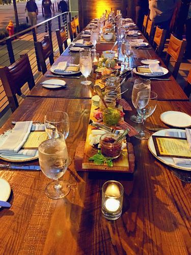 Dinner seating