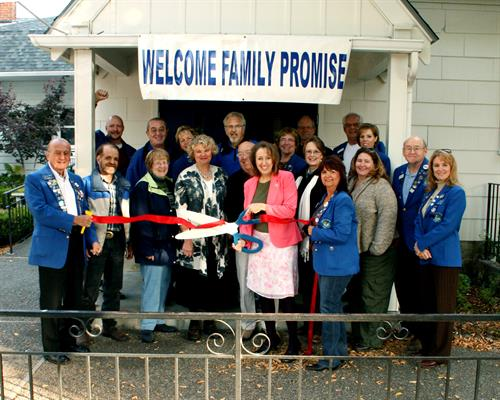Ribbon Cutting at St. Luke's Episcopal Church