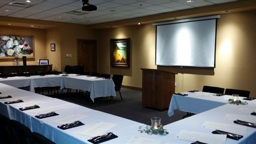 Private Parties, custom menus and free AV equipment!
