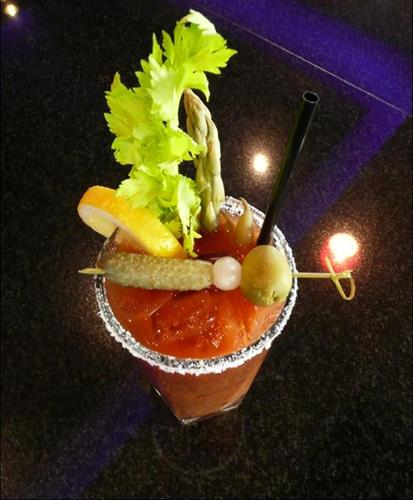 Our Blooody Marys are crafted from scratch