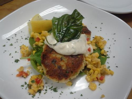Our Crab Cakes Voted #1 must eat before you die- Spokesman Review