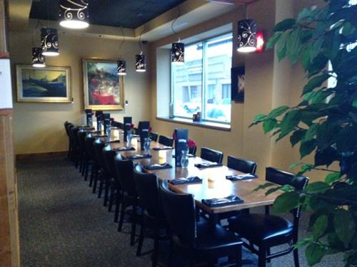Book a private party inthe Gallery or the Garden Room.