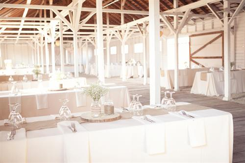 A shot from our exclusive venue, Barn 10!