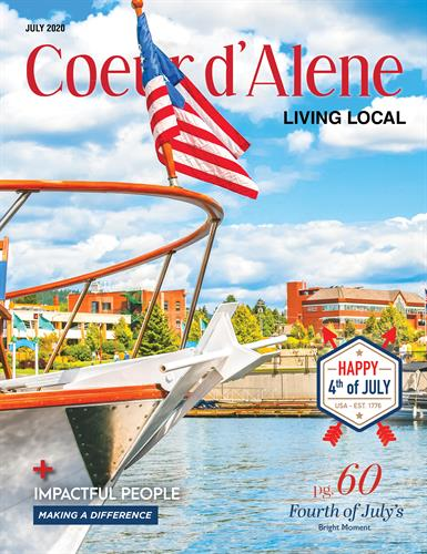 Coeur d Alene Living Local July 2020