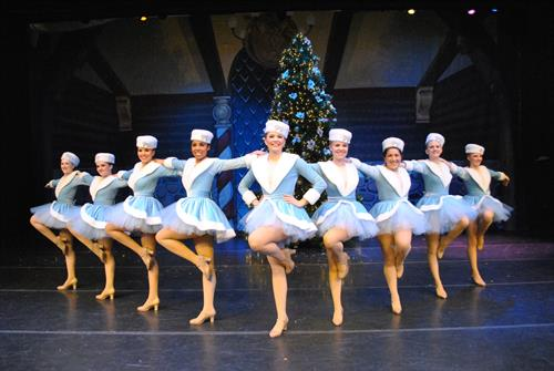 Traditions of Christmas Kickline Dancer
