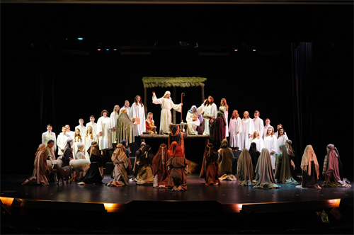 Traditions of Christmas Living Nativity
