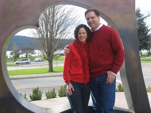 Patrick & Gail McGaughey Coeur d'Alene residents since 1990