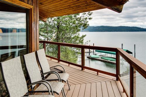 Beautiful Lakefront Custom book now at vacasa.com/usa/Idaho/Coeur-dAlene