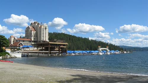 Beautiful downtown Coeur d'Alene