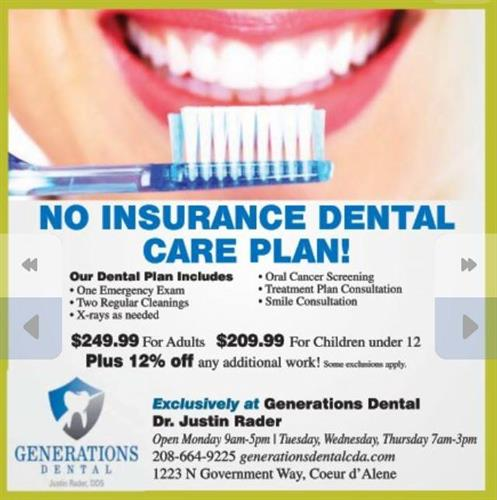 Generations Dental Ad