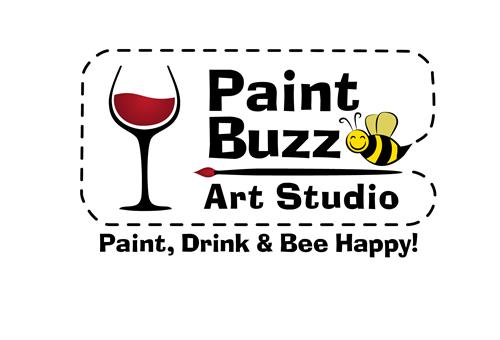 The Paint Buzz: Paint, Drink, Bee Happy!