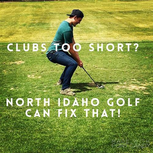 Clubs too short?
