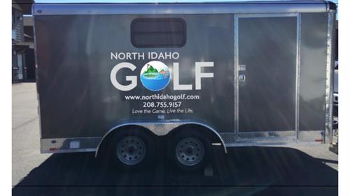 Mobile Golf Trailer