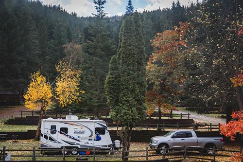 We offer back-in and pull-thru RV sites